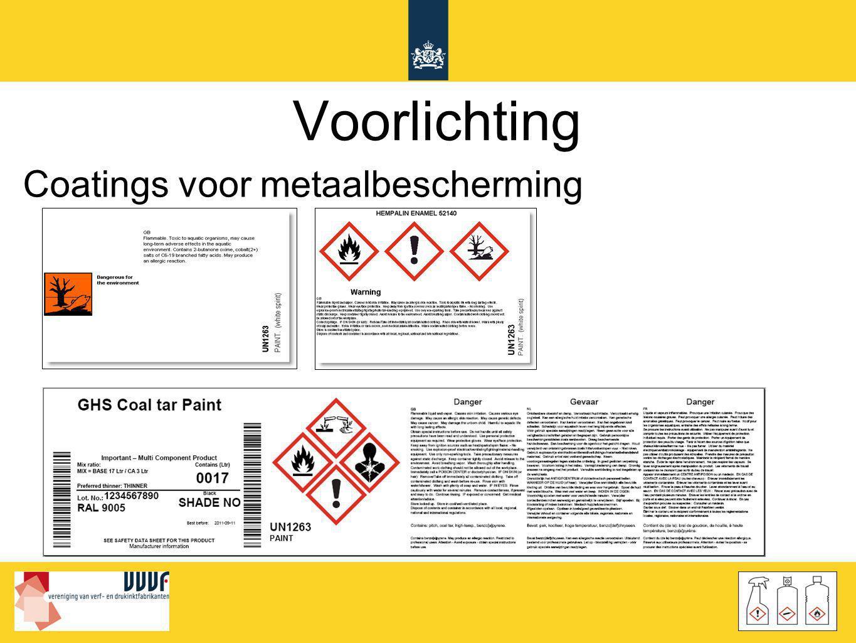 Voorlichting Coatings voor metaalbescherming