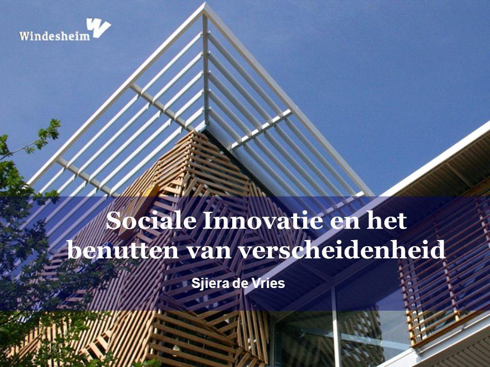 Sjiera de Vries Sociale Innovatie en het benutten van verscheidenheid