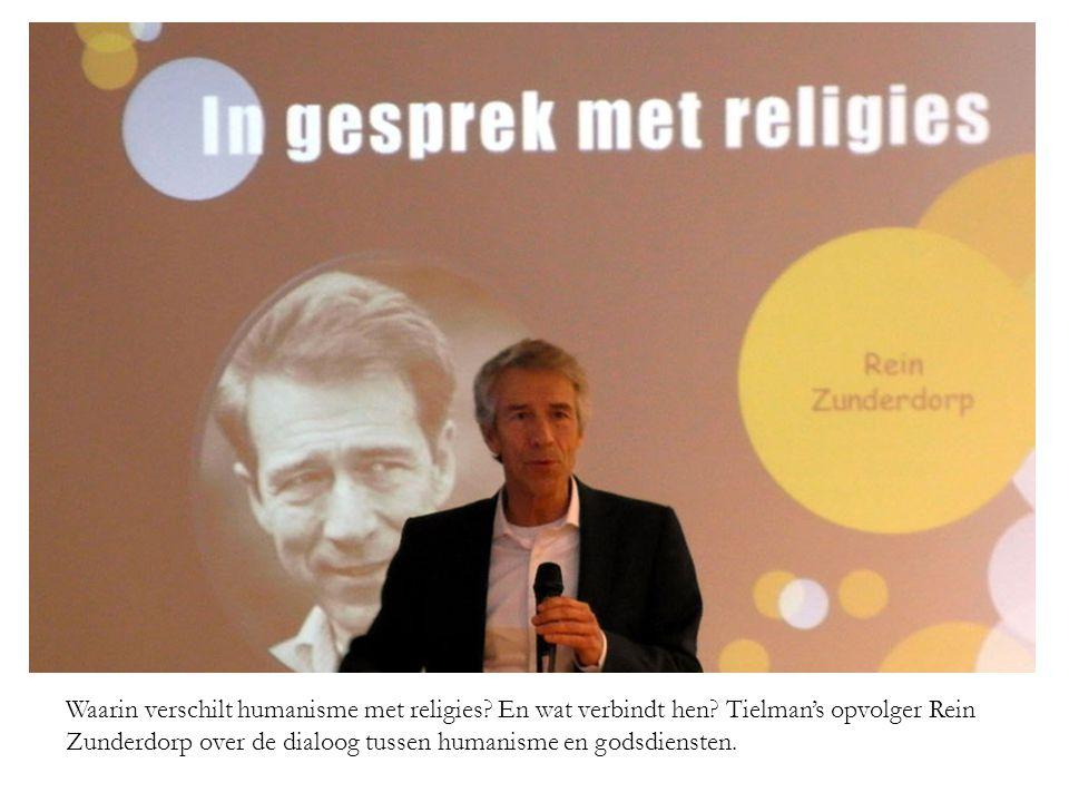 Waarin verschilt humanisme met religies. En wat verbindt hen.