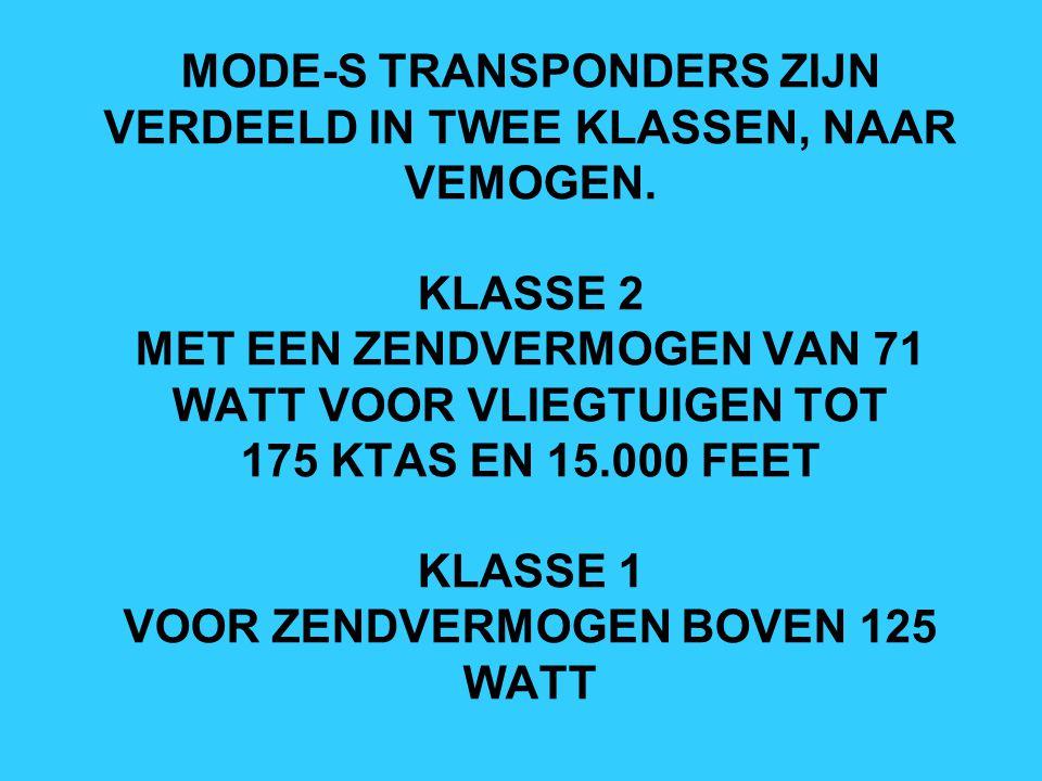 HET CONTROLEREN VAN DE INGEBOUWDE TRANSPONDER: FILSER HEEFT EEN TRANSPONDER TESTER ONTWIKKELD, WAARMEE DE TRANSPONDER NAAR MIMIMUM OPERATIONAL PERFORMANCE STANDARDS (MOPS) RTCA Do-181 / EUROCAE ED-73 GECONTROLEERD KAN WORDEN.