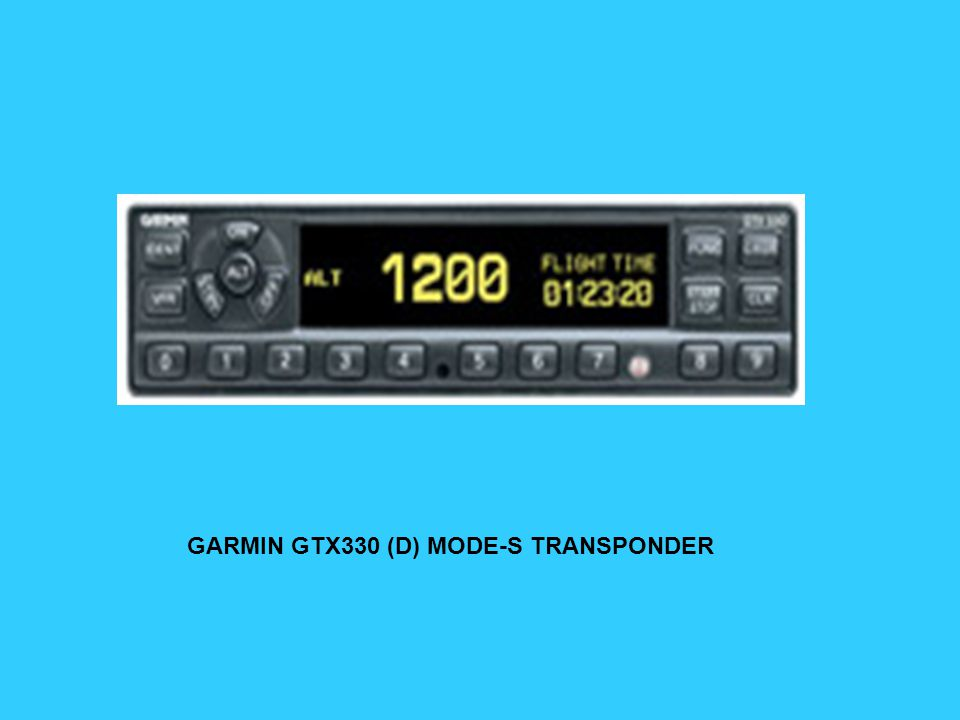 GARRECHT MODE-S RETROFIT VOOR KT-76 (A) (C)