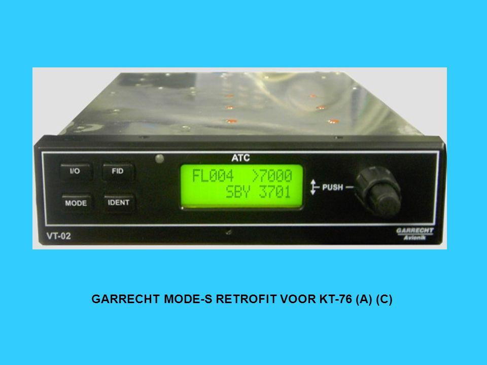 GARRECHT VT-01 MODE-S TRANSPONDER
