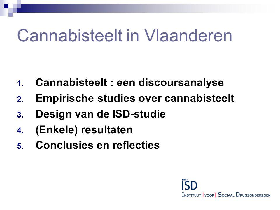 Cannabisteelt in Vlaanderen 1.Cannabisteelt : een discoursanalyse 2.