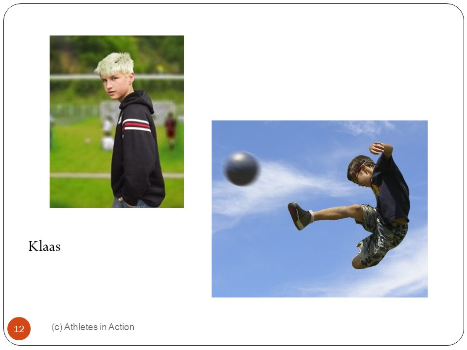 (c) Athletes in Action 13