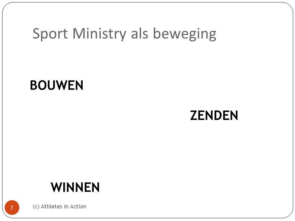 Sport Ministry als beweging (c) Athletes in Action 7 BOUWEN ZENDEN WINNEN