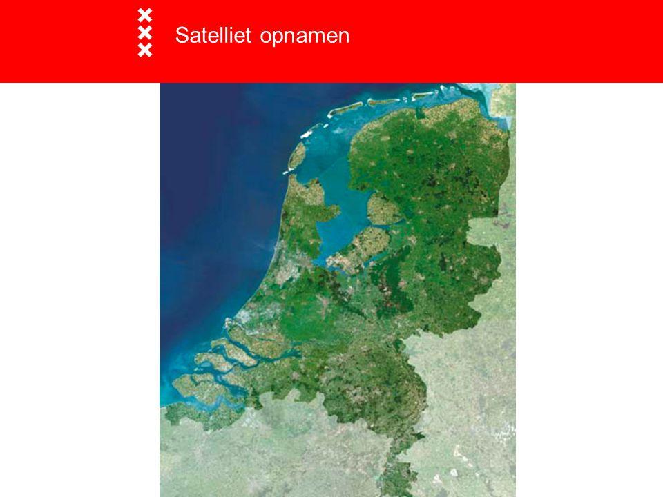 Satelliet opnamen