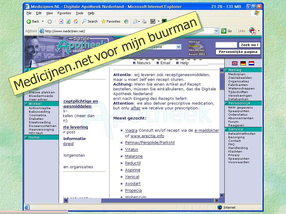 Medicijnen.net voor mijn buurman