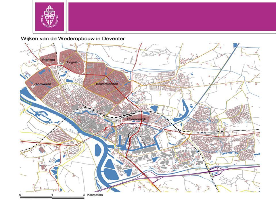 Wijk aanpak: Rivierenwijk, Deventer