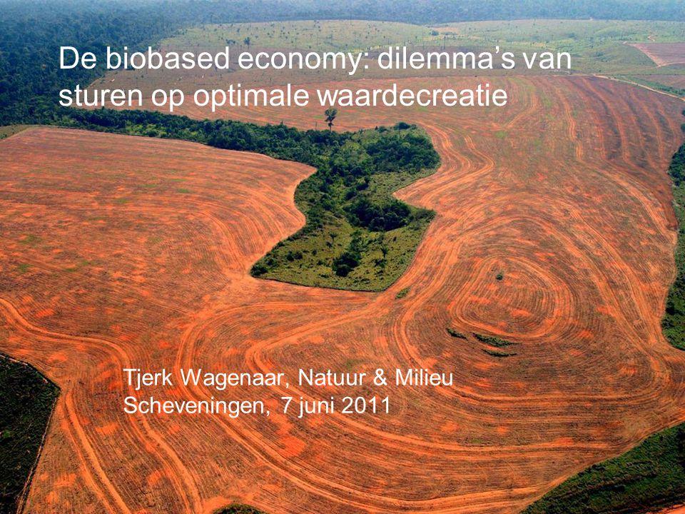 Inhoud •Rol van NGO's in de biobased economy •Biobased economy en waardecreatie •Dilemma's van sturen op waardecreatie •Conclusies