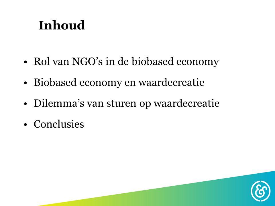 Rol van NGO's (1) Agenderen dilemma's