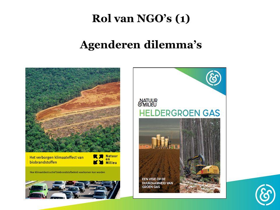Rol NGO's (2) o.a.