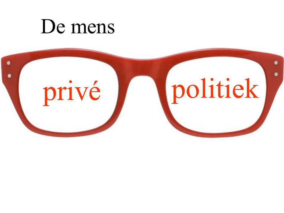De mens privé politiek