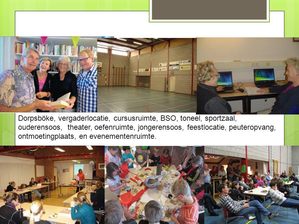 Expolitatie van 't Haarhoes  Stichting 't Haarhoes krijgt per 1-1-2013 geen op vaste gemeentelijke bijdrage meer waardoor er gezocht moet worden naar andere manieren om 't Haarhoes in stand te houden en aan te passen aan de toekomstige functies en behoeften.
