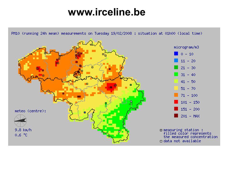 Overzicht van de fijn stof (PM10 en PM2.5) concentraties in de omgevingslucht gemeten in de luchtmeetnetten van Vlaanderen, Brussel en Wallonië 1.Data