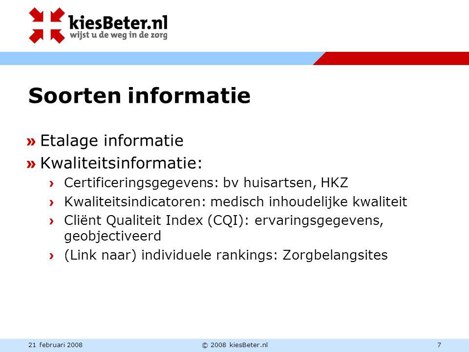 Soorten informatie » Etalage informatie » Kwaliteitsinformatie: › Certificeringsgegevens: bv huisartsen, HKZ › Kwaliteitsindicatoren: medisch inhoudel