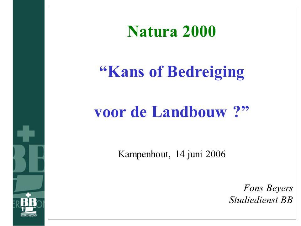 Historiek van groen •Jaren '70 : opmaak van de gewestplannen Landbouw was blij met groene inkleuring .