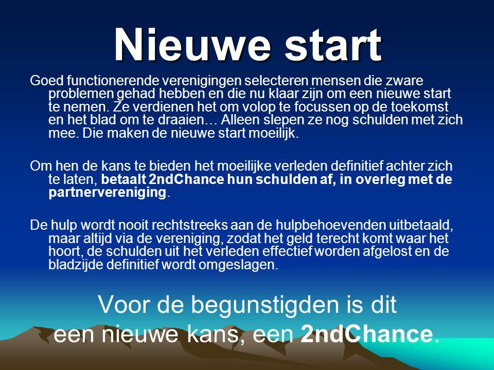 De grote kracht De grote kracht van 2ndChance is dat je heel concreet weet wat je doet en voor wie.