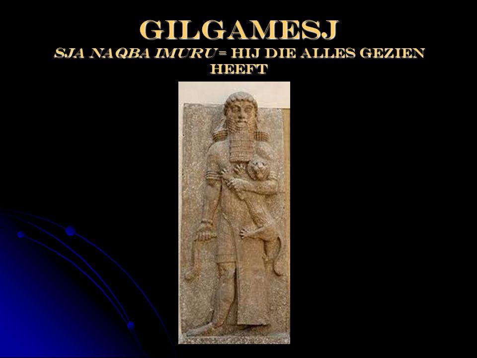 Gilgamesj sja naqba imuru = hij die alles gezien heeft