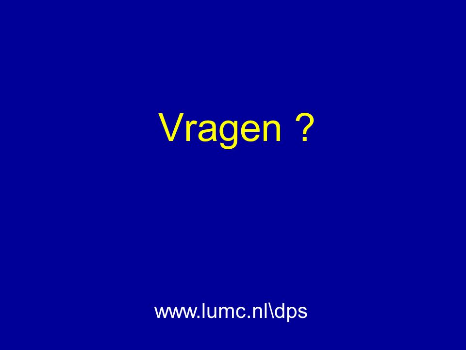 Vragen ? www.lumc.nl\dps