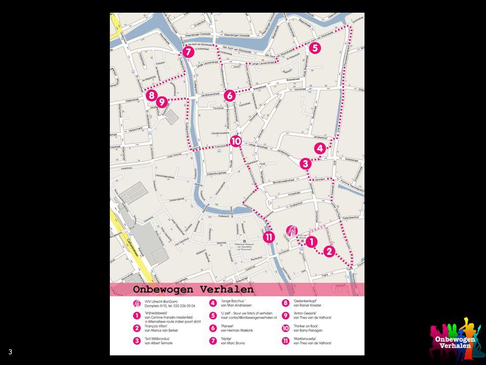 3 1. Vrijheidsbeeld van Corinne Franzén-Heslenfeld Locatie: Domplein Geschreven door: Herman van Veen Ingsproken door: Beatrijs Sluijter