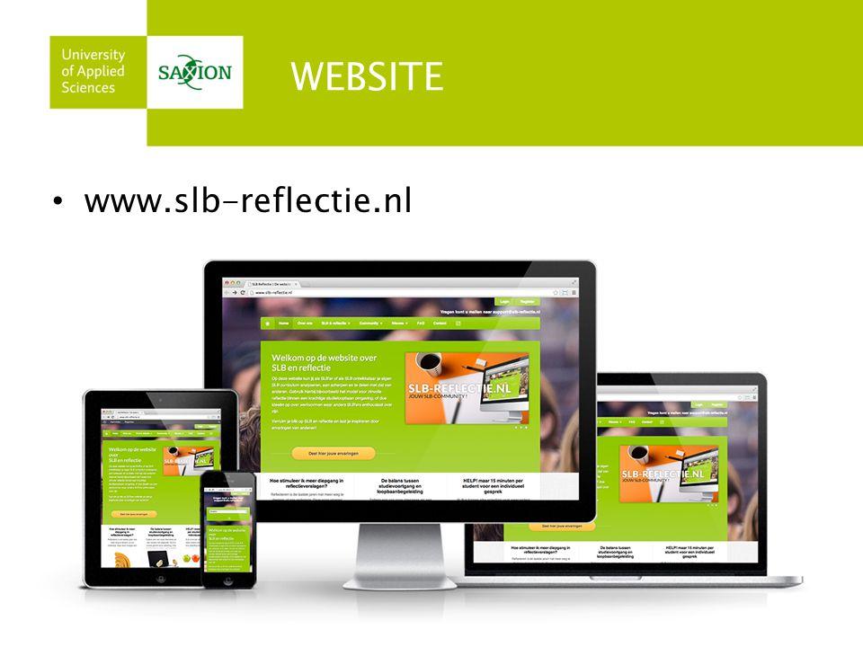WEBSITE • www.slb-reflectie.nl