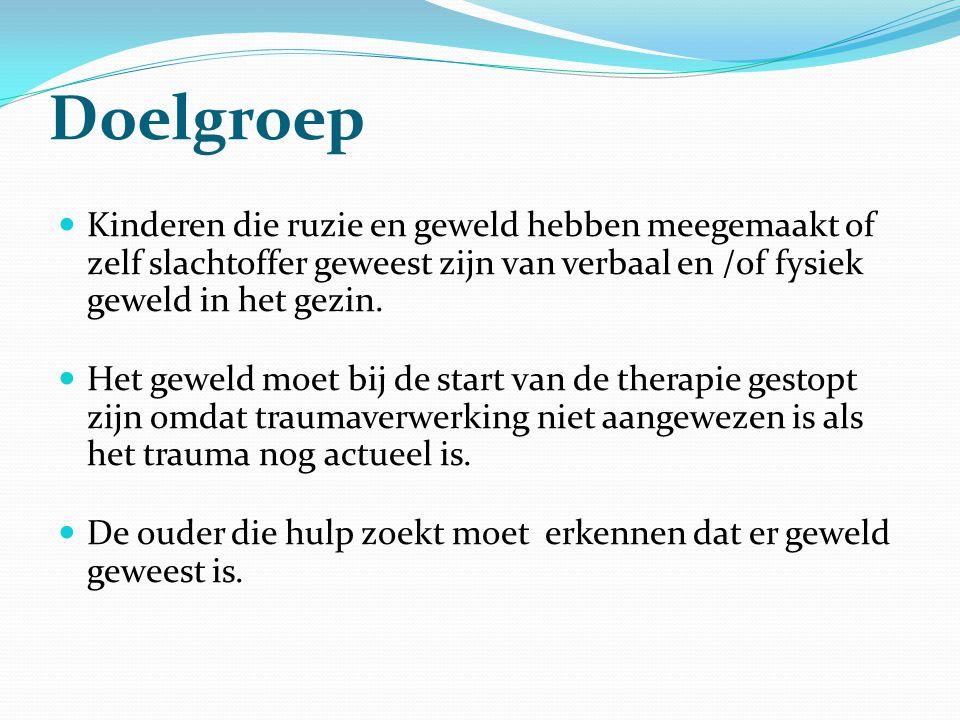 Methodiek  De therapie maakt gebruik van de Horizonmethodiek.