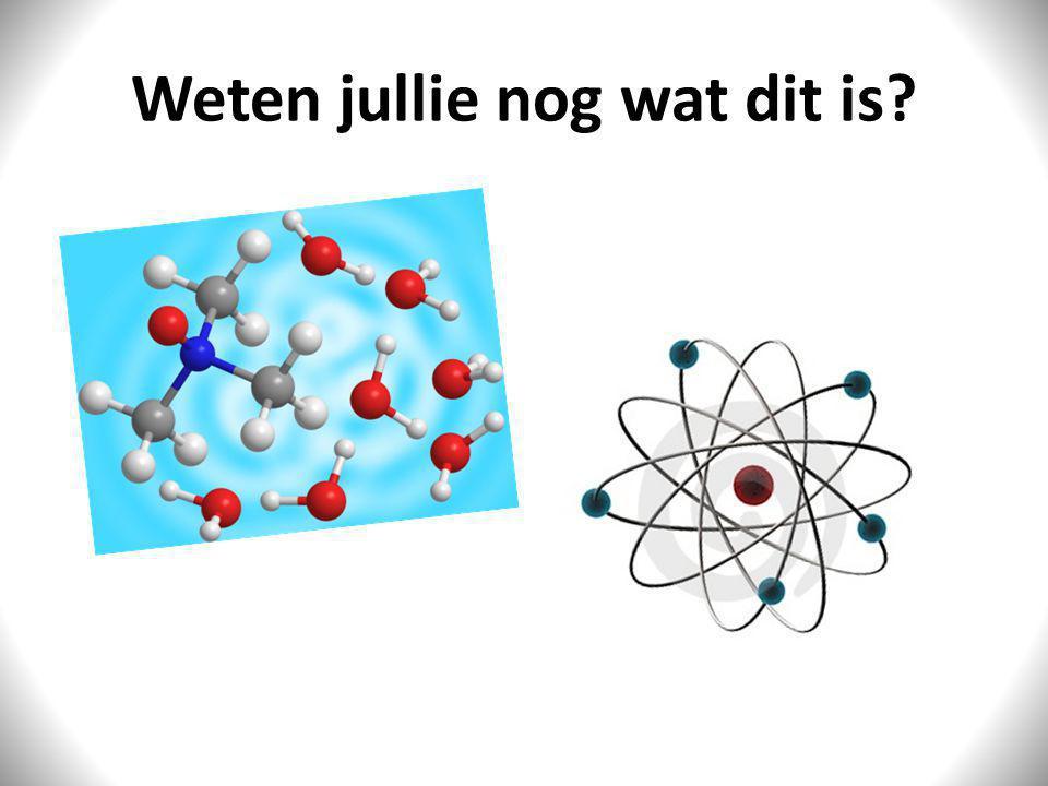 De opbouw van stoffen Natuurkunde hoofdstuk 1 (niv. 1)