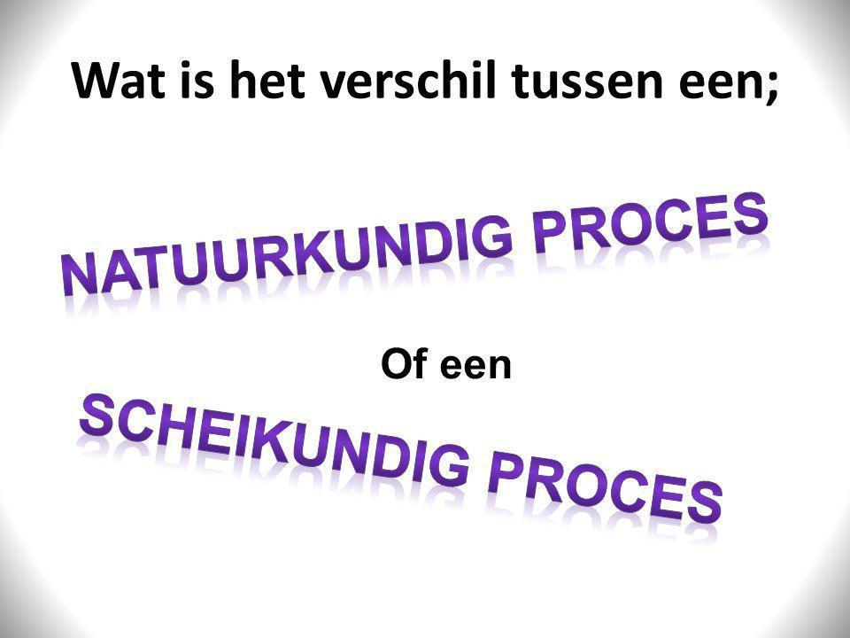 Natuurkundig Proces