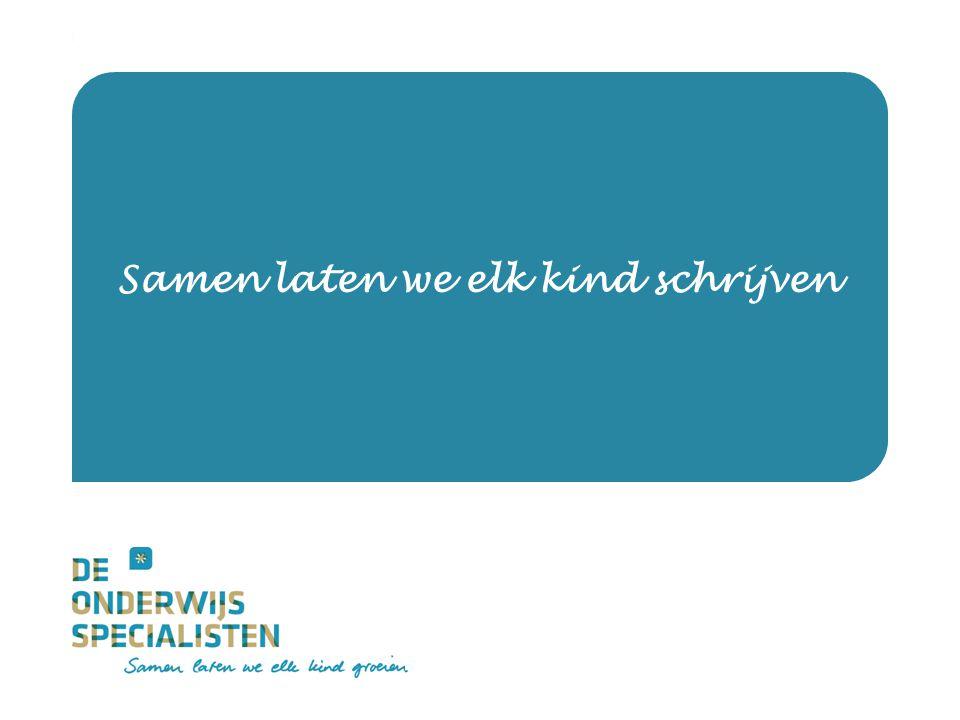 De Onderwijsspecialisten | Dienstverlening Samen laten we elk kind schrijven