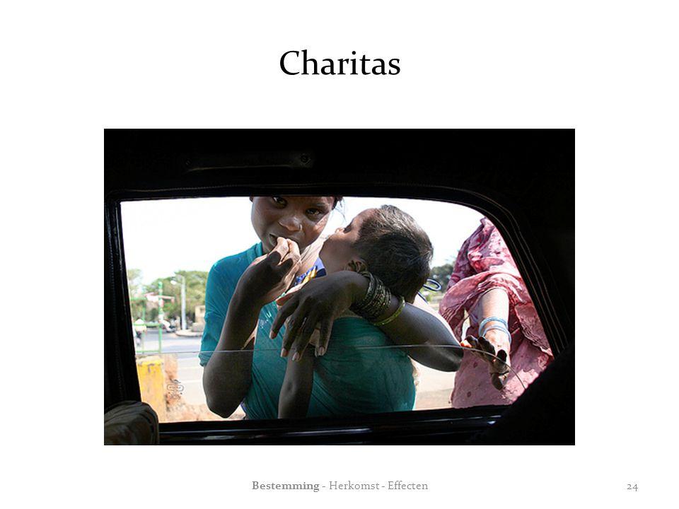 Charitas Bestemming - Herkomst - Effecten24
