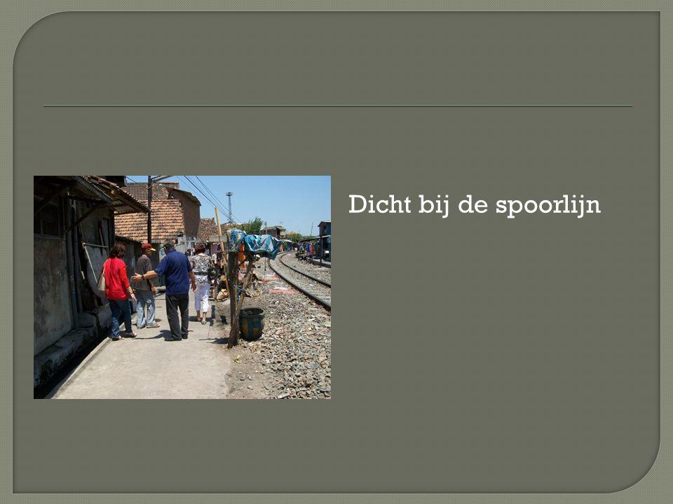 Dicht bij de spoorlijn