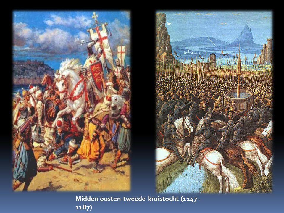 Midden oosten-tweede kruistocht (1147- 1187)