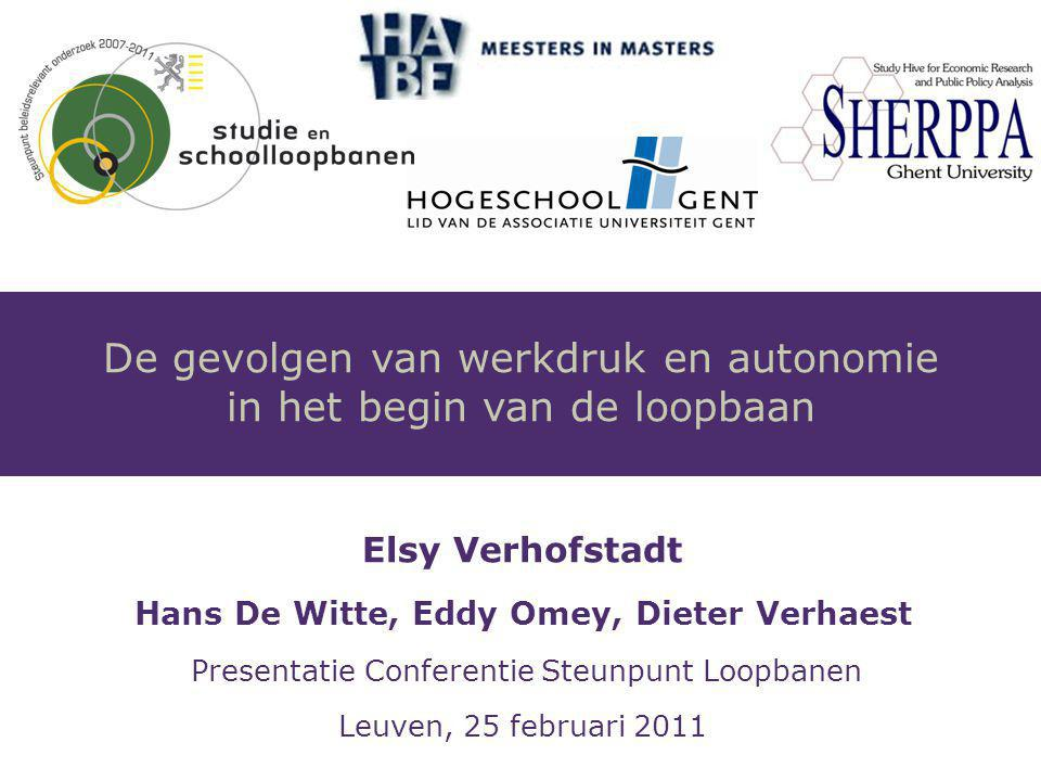 Elsy Verhofstadt 2 Gebaseerd op De Witte, H., Verhofstadt, E.