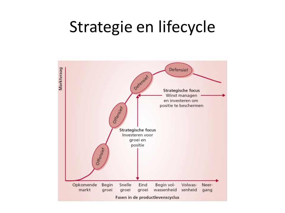 Strategie en lifecycle