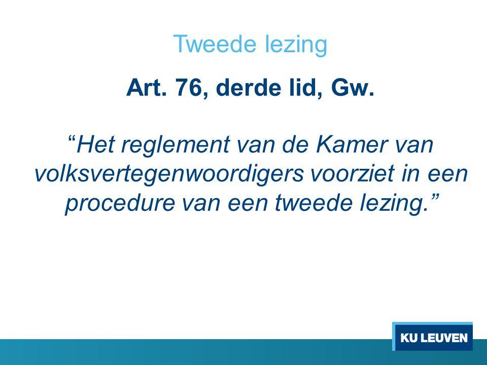 Art.76, derde lid, Gw.