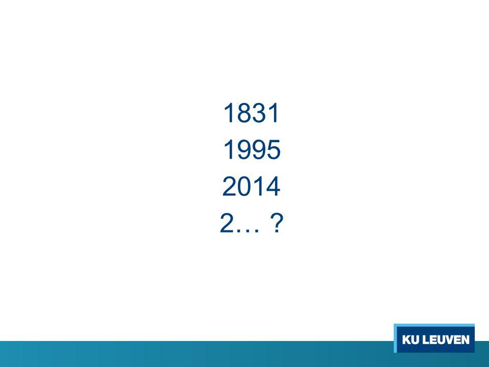 1831 1995 2014 2… ?