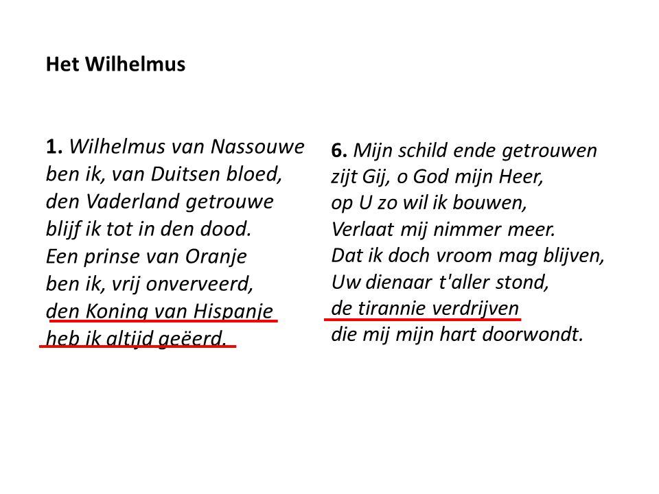 Het Wilhelmus 1.