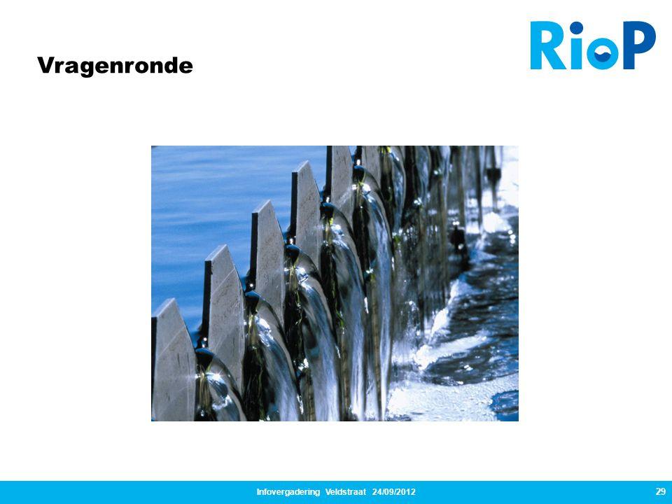 Infovergadering Veldstraat 24/09/2012 29 Vragenronde