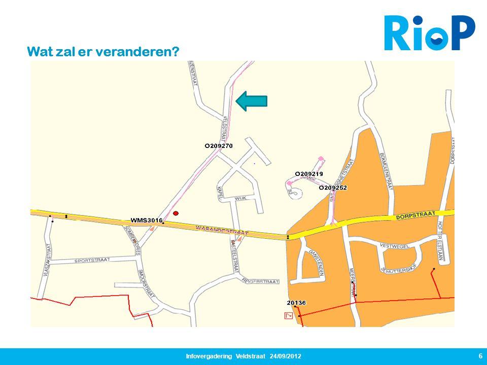 Infovergadering Veldstraat 24/09/2012 27 Communicatie