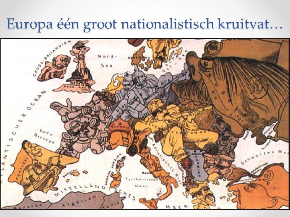 Europa één groot nationalistisch kruitvat…
