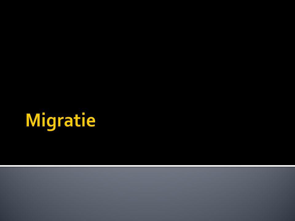  1920: migratie ↑ (1929: 20.000)  Naar Algerije (85.000)  WO II: meer dan 125.000  Vrijheidsoorlog in Algerije (1954 – 1962)  migratie naar Europa ↑