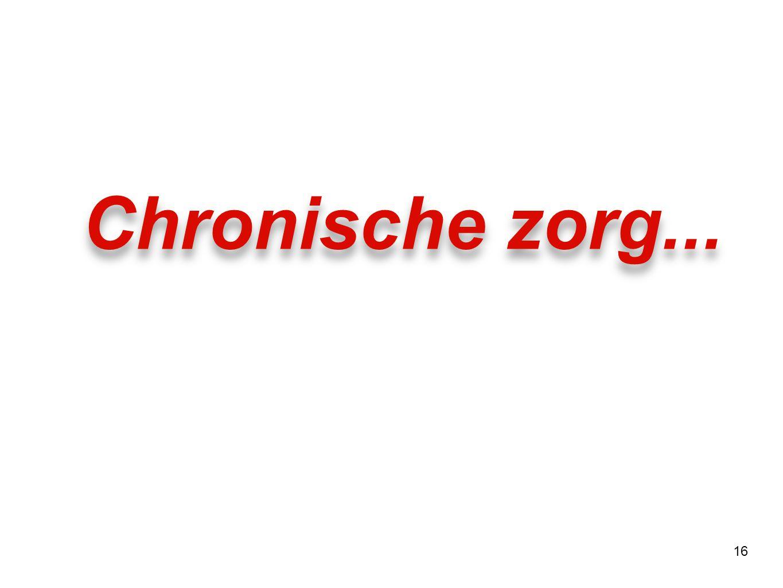 16 Chronische zorg...