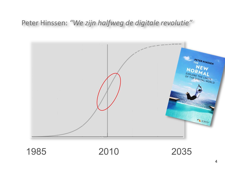 """4 201020351985 Peter Hinssen: """"We zijn halfweg de digitale revolutie"""""""
