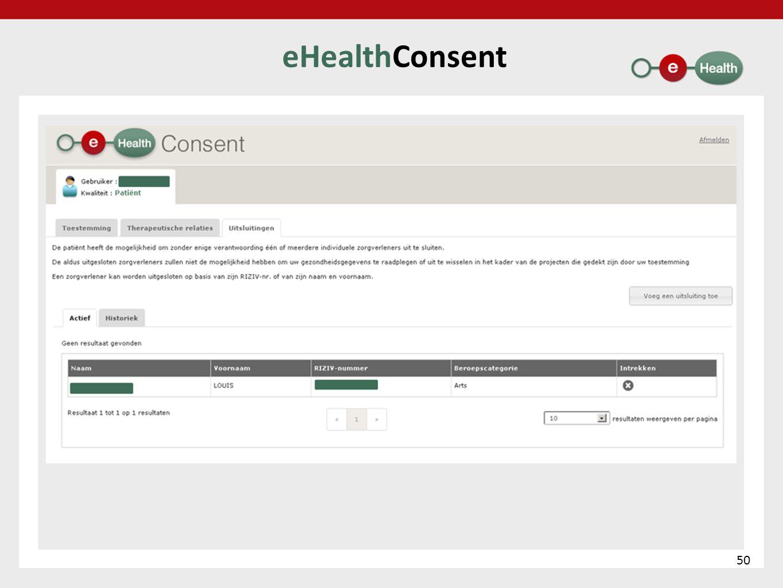 eHealthConsent 50