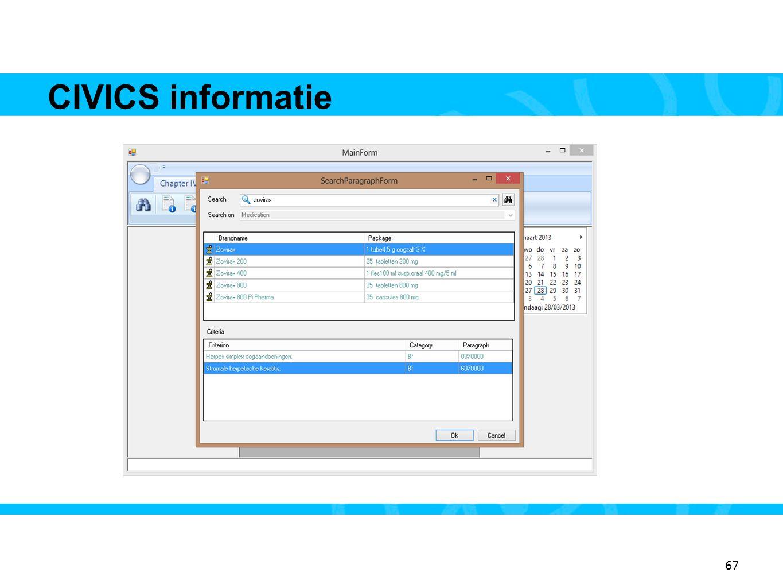 67 CIVICS informatie 15 67