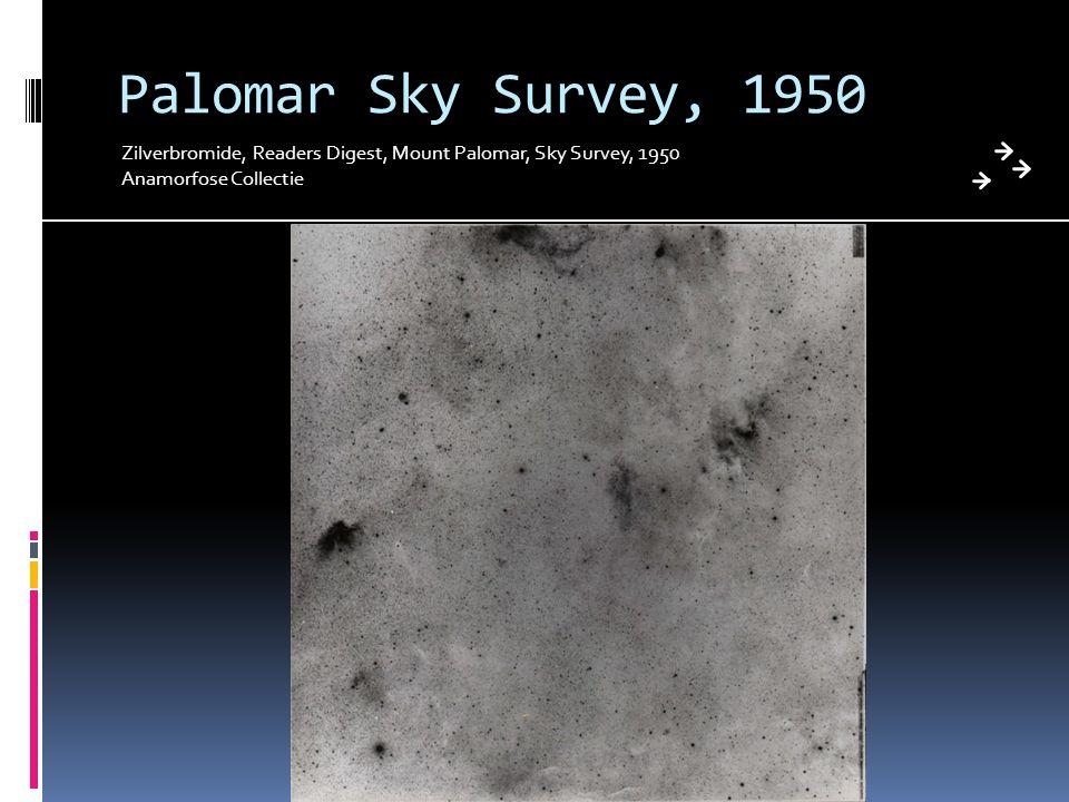 Palomar Sky Survey, 1950 Zilverbromide, Readers Digest, Mount Palomar, Sky Survey, 1950 Anamorfose Collectie