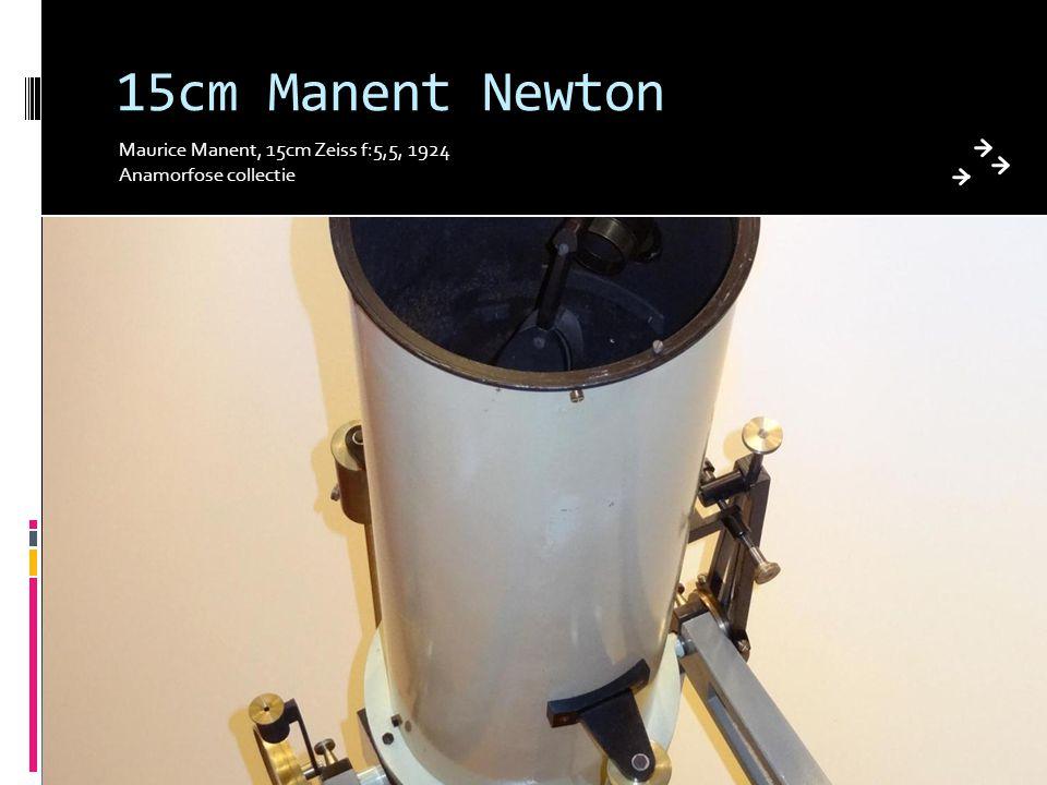 15cm Manent Newton Maurice Manent, 15cm Zeiss f:5,5, 1924 Anamorfose collectie