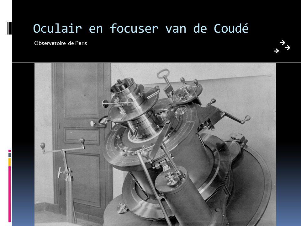 Oculair en focuser van de Coudé Observatoire de Paris