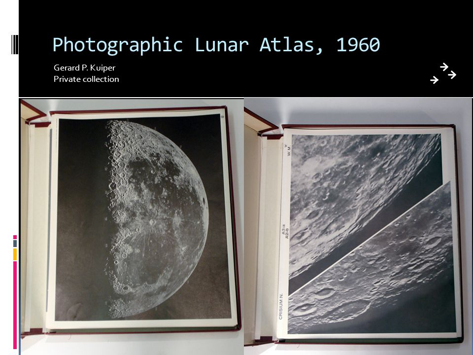 Photographic Lunar Atlas, 1960 Gerard P. Kuiper Private collection