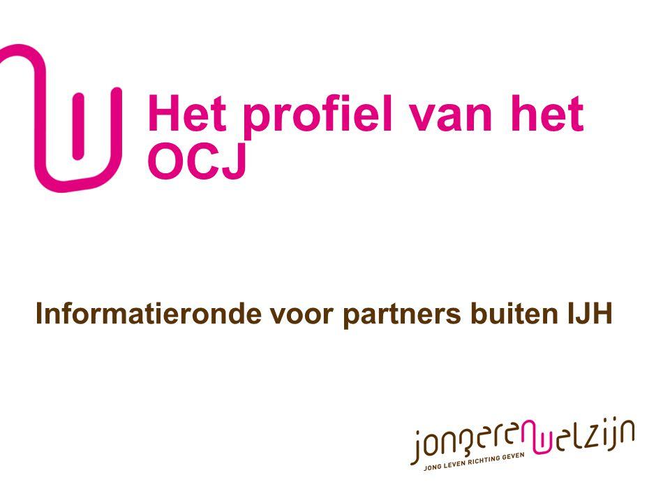 Het profiel van het OCJ Informatieronde voor partners buiten IJH